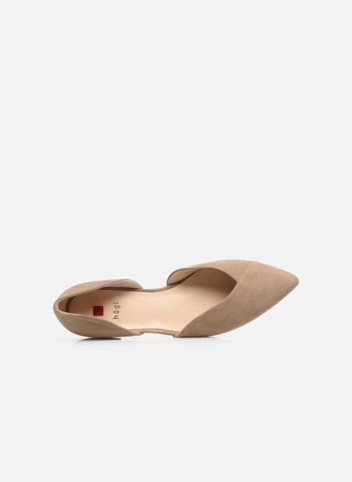 Ballerines HÖGL All-Day Beige vue gauche